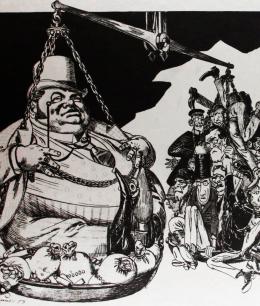 """""""La cuestión obrera"""" - Karl Marx - noviembre de 1853 Balanza"""